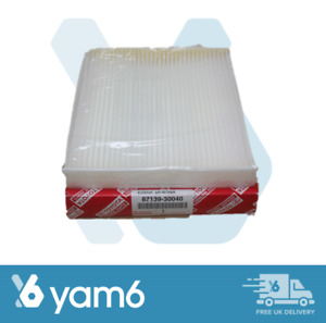 GENUINE TOYOTA CABIN POLLEN AIR FILTER FITS YARIS + MORE 87139-30040, 8713930040