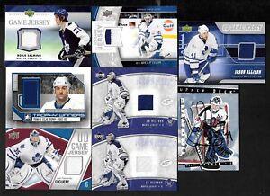 TORONTO MAPLE LEAFS JERSEY + AUTOGRAPH NHL HOCKEY CARD SEE LIST