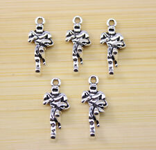 30/60/100 pcs Very beautiful  athletes Tibet silver charm pendant 24x10 mm