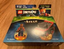Lego Dimensions Video Game - 71251 A-Team Fun Pack - Mr T & Van - New