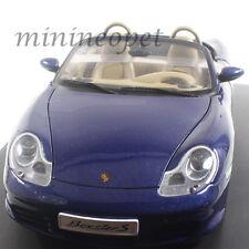 Autoart 77881 2003 PORSCHE 986 BOXSTER S 1/18 DIECAST MODEL CAR LAPIS BLUE