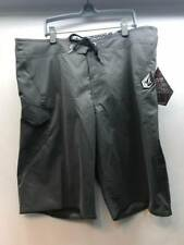 Volcom Maguro Solid Boardshort Dark Grey Size Men 38 NEW