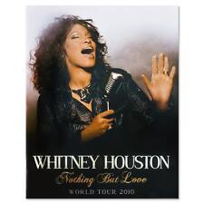 Whitney Houston Nothing But Love 2010 World Tour Programme memorabilla