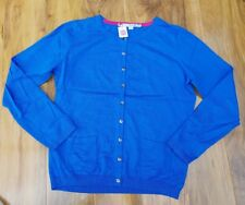 Boden Ladies GORGEOUS Royal Blue Favourite Cardigan WU004 Size 14. BRAND NEW.