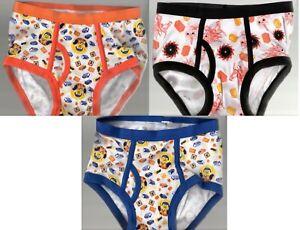 3 Pairs Boys Size 8 Underwear, The Lego Movie 2, Briefs, 3 Designs NWOT