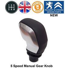 Peugeot 3008 5008 Expert 4 Gear Knob Lever Stick Black Zamak Genuine New