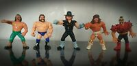Vintage WWF WWE Action Figures 90's Titan Sport Ultimate Warrior Undertaker RARE