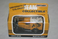 1991 Matchbox Team Collectible University of Colorado Die Cast Vehicle NEW