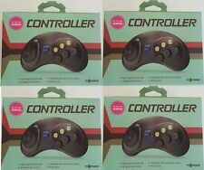 4 lot NEW Controller Game Control pad for Sega Genesis made by Tomee new in box