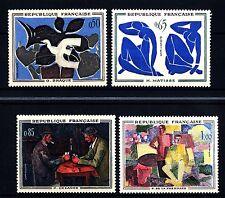 FRANCIA - Quadri di Francia - 1961 - Opere di pittori moderni