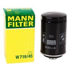 ORIGINALE MANN-FILTER w719/45 FILTRO OLIO anschraubölfilter AUDI a3 a4 a5 VW PASSAT