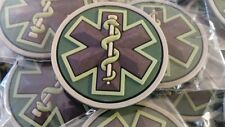 MSM EMT / START Medic Rescue Paramedic PVC PATCH - MULTICAM  COLOR