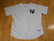Majestic 2005 NEW YORK YANKEES Pinstripe MLB Authentic Team Issue 0062 JERSEY 54
