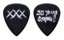 Metallica Fillmore 30 Years Strong!! Black XXX MISPRINT Guitar Pick - 2011 Tour