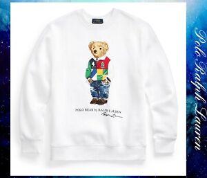 Polo Ralph Lauren Big Boys Polo Bear Fleece Sweatshirt Size XL(18/20)