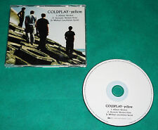 Coldplay - Yellow BRAZIL ONLY RARE PROMO CD 2000 EMI PP 0793 2