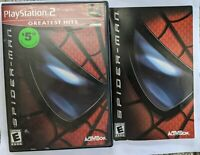 Spider-Man Spiderman Sony Playstation 2 PS2 2002 Complete, Excellent!