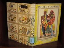 World Costumes by Angela Bradshaw ~ 1959 HC W/DJ