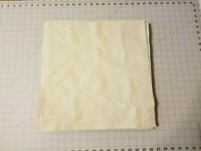 """Upholstery Leather - White 16"""" x 16"""" Squares"""