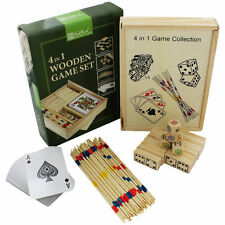 Wooden Modern Board & Traditional Dice Games