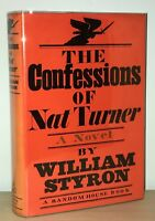 William Styron - Confessions of Nat Turner - 1st 1st - PULITZER PRIZE - NR