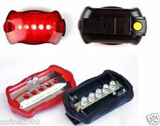 Bicycle Bike Cycling 5 Led Tail Rear Safety Flash Light Lamp Red With Mount A