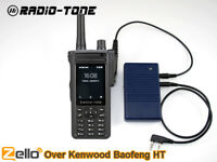 UV5R Over Zello Controller + RT4 Android Smart Phone Cross to kenwood Baofeng HT