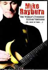Mike Rayburn's The World's Funniest Guitar Virtuoso (DVD, 2015) Music Comedy  NR