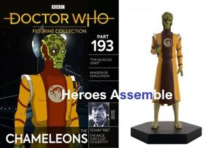 DOCTOR WHO FIGURINE COLLECTION #193 CHAMELEON THE FACELESS ONES EAGLEMOSS