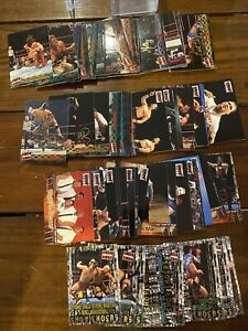 WWE/WWF - FLEER 2001 - RAW IS WAR - 100 CARD FULL SET