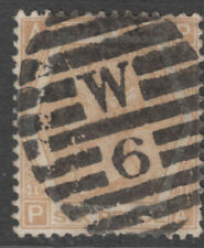 Uk - Great Britain Sg.123 - 6d. pale-buff (Plate 11) 1872 - £110