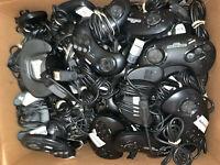 20 Wholesale Broken Official OEM Sega Genesis Controller Lot Parts/Repair