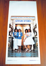 AFFARI D'ORO locandina poster Bette Midler Lily Tomlin Big Business Twins K97