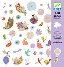 """Djeco Stickers """"Small Wings"""" kit, Au Seller"""