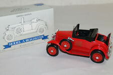 Liberty Classics 1:25 Ford Model A Roadster Coin Bank Fire Chief Red Diecast NIB