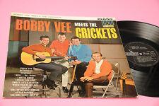 BOBBY VEE & THE CRICKETS LP ORIG UK MONO LAMINATED COVER