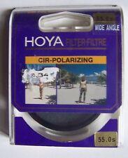 #) filtre polarisation circulaire HOYA 55.0s WIDE ANGLE
