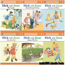 Dick and Jane Readers Series Level 1 Collection Set 1-6 Ages 3-5 BRAND NEW!