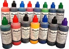 15 Assorted Calligraphy Ink thick PIGMENT BASED ink 15 Colors x 60 ml each