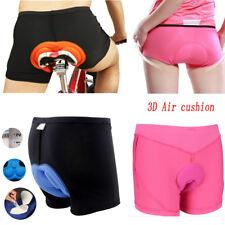 Men Women Cycling 3D GEL Padded Bicycle Bike Comfortable Underwear Short Pants