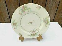 4 Theodore Haviland New York Apple Blossom Dinner Plates Ivory With Gold Trim