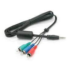 Component Video and Audio Cables with 3.5mm Jack to HDTV input ports 030050