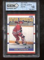 Eric Lindros RC 1990 Score #440 Rookie GEM MINT 10