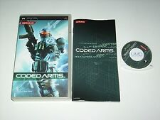 """JEU SONY PSP """" CODED ARMS  """" EN BOITE COMPLETE"""