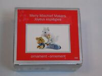 American Greetings Christmas 2010 Holiday Ornament Merry Mischief Makers Cats