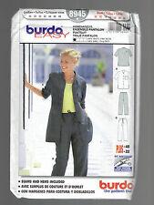 BURDA pattern 8945 jacket pants Sz 10 12 14 16 18 20 22 PLUS uncut UNUSED