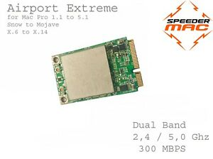  Airport Extrem 300Mbps Dual 2,4/5 GHZ Für Apple Mac Profi / Mini WLAN Card