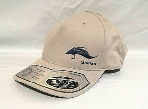 $30 Simms Men's Trout Fishing UPF 50+ FlexFit 110 Cap Hat, Ash, One Size - 1B_65