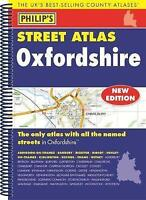 Philip's Street Atlas Oxfordshire 5ED Spiral (New Edition) by Philip's Maps, NEW
