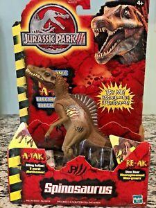 2000 Hasbro Jurassic Park III  Electronic RE-AK A-TAK Spinosaurus NRFB Works!